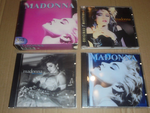 Madonna - 3 For One Import Box Set (1st Album, Like A Virgin, True Blue) CD