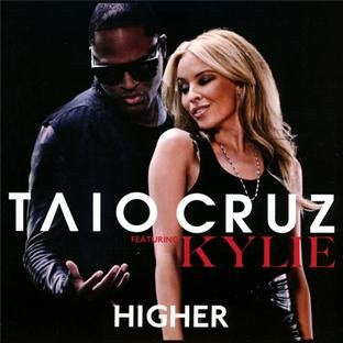 Taio Cruz ft. Kylie Minogue - Higher - Import CD Maxi-Single