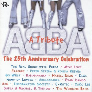 ABBA - The 25th Anniversary A Tribute Celebration (Various) Used CD