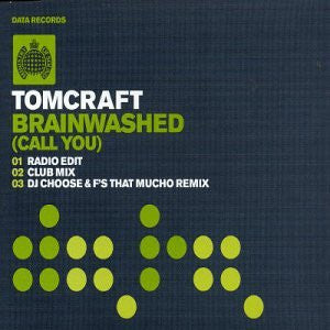 Tomcraft - Brainwashed (Call You) CD single