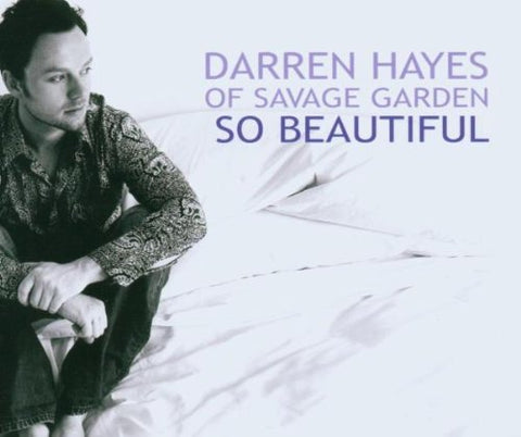 Darren Hayes - So Beautiful (Import CD single)