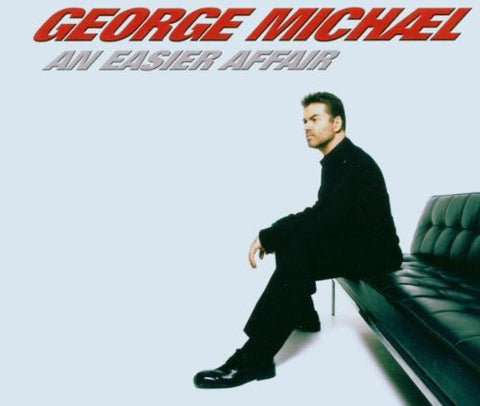 George Michael - An Easier Affair (2 track Import CD single) Used