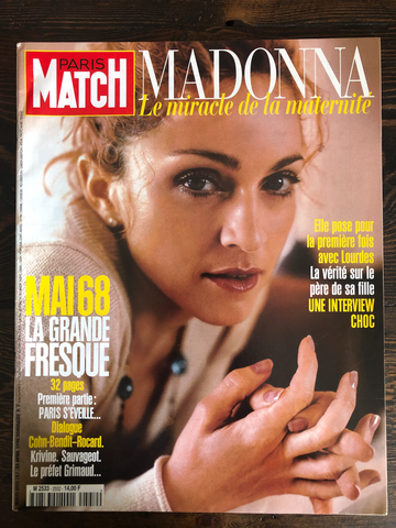 Madonna - Paris Match Magazine - 1998