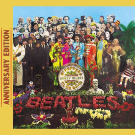 The Beatles -50th anniversary Sgt. Peppers Lonely Hearts Club Band 2 Disc set