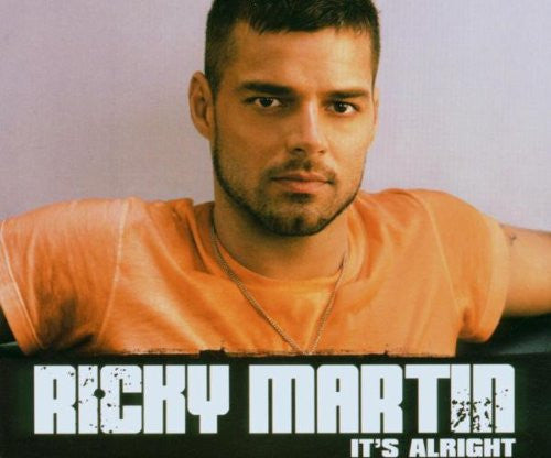 Ricky Martin - It's Alright - Import CD Single