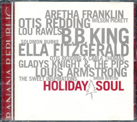 Holiday Soul (Banana Republic) 2001 exclusive CD -Used