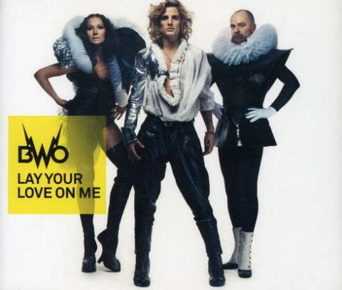 BWO - Lay Your Love On Me - Import CD Single