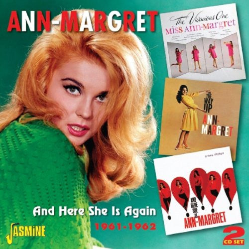 Ann-Margret And Here She Is Again 1961-1962 [REMASTERED] 2CD SET