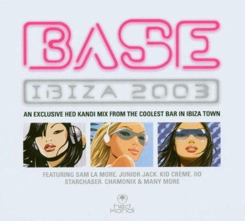 Hed Kandi Presents - BASE: Ibiza 2003 - 2CD (SALE)