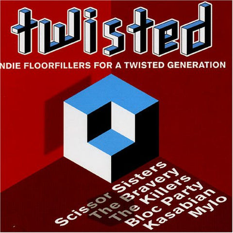 (Various) TWISTED - Indie Floorfillers Remixes - 2 CD set - Used