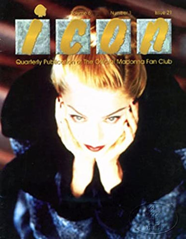 Madonna - ICON Fan Club Magazine (You'll See)