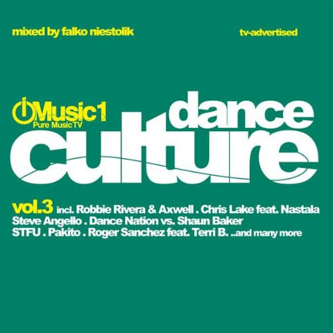 Dance Culture vol.3  Music 1 (Double CD) Various