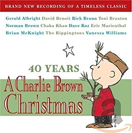 A Charlie Brown Christmas - 40 years  (Various New recordings) CD promo