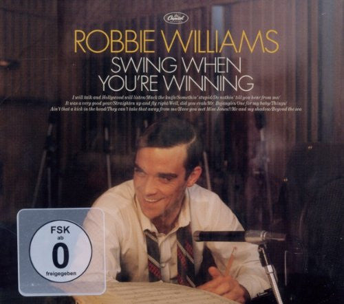 Robbie Williams - Swing When You're Winning (CD+DVD) Re-issue bonus tracks