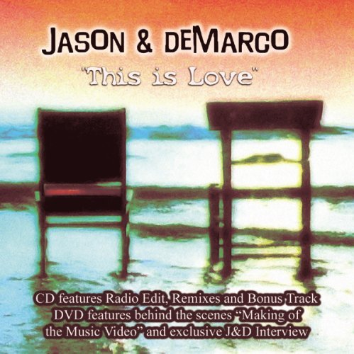 Jason & DeMarco - This Is Love CD/DVD single - Used