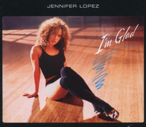 Jennifer Lopez (J.Lo) - I'm Glad Import Remix CD single - opened
