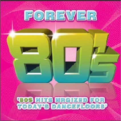 Forever 80's  - High Energy Dance COVERS  CD
