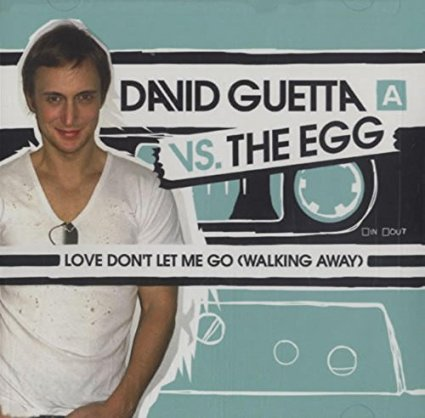 David Guetta vs The Egg - Love Don't Let Me go (Walking Away) CD single