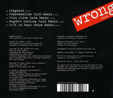 Depeche Mode - WRONG (Remixes) CD single
