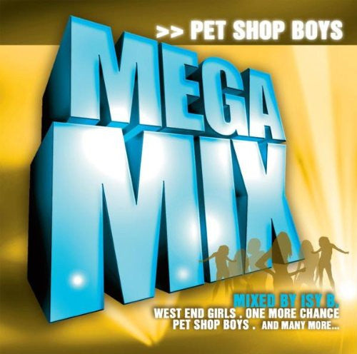 Pet Shop Boys - Mega Mix - Import Remix CD