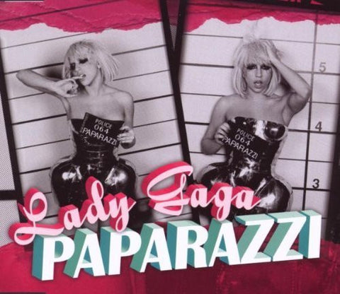 Lady Gaga - Paparazzi (Uk 2 track CD single)