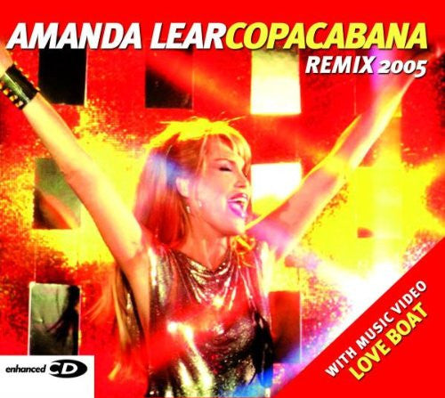 Amanda Lear - Copacabana remix 2005 CD single