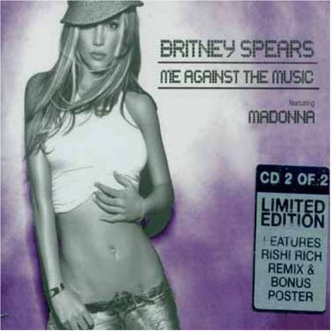 Britney Spears ft: Madonna - Me Against The Music (CD Single) CD2
