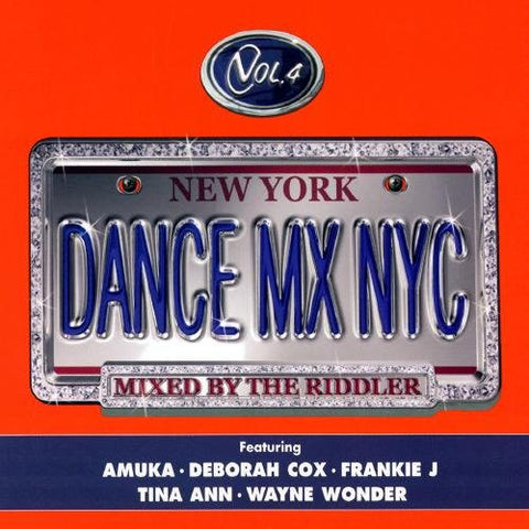 The Riddler - Dance Mix NYC  vol.4 CD