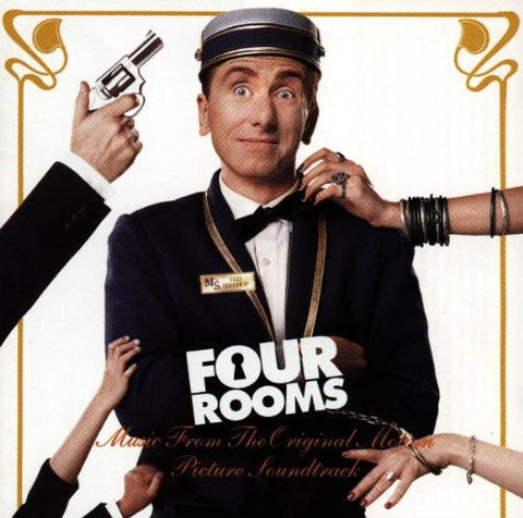 Four Room - Movie soundtrack - Used CD (Madonna)