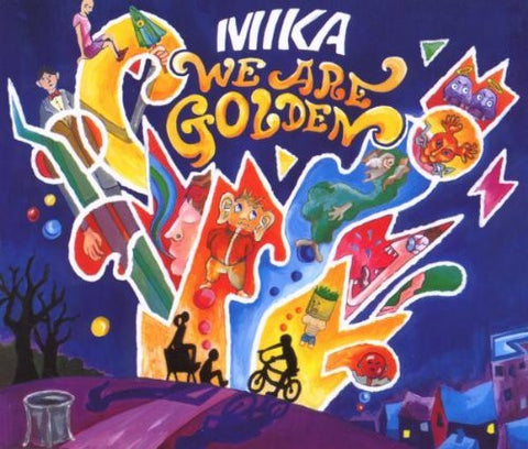 Mika - We Are Golden - Import Remix CD Single