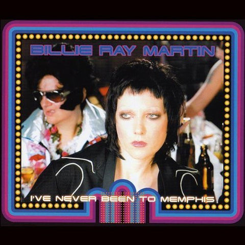 Billie Ray Martin - I've Never Been To Memphis - Remix CD Single