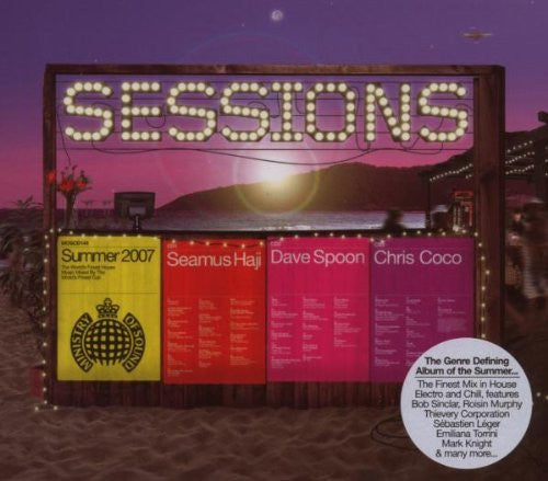 Ministry Of Sound Sessions (3 CD) Seamus Haji, Dave Spoon, Chris Coco