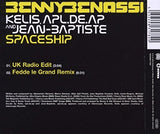 Benny Benassi ft: Kelis  - Spaceship 2 track CD single