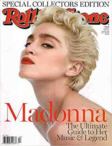 MadonnaM - Rolling Stones Special Edition ALL MADONNA Magazine -