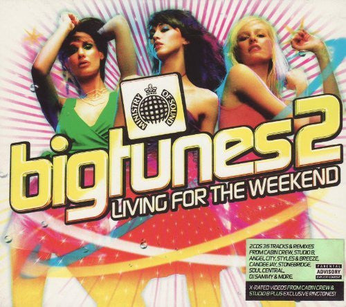 Ministry Of Sound - Big Tunes 2: Living For The Weekend - 2CD SALE!