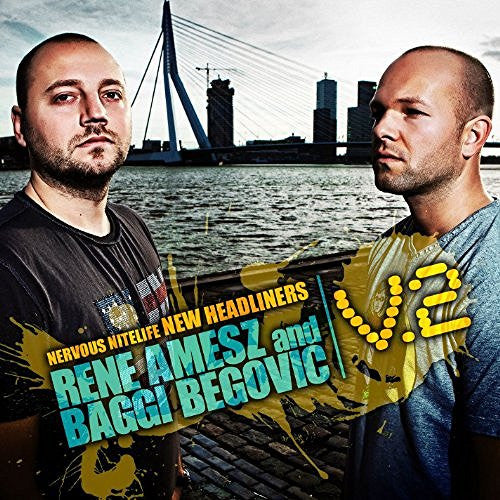 Rene Amesz and Baggi Begovic - Nervous Nitelife New Headliners V.2 - 2 CD Set