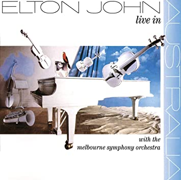 Elton John - Live In Australia w/The Melbourne Symphony - Used CD