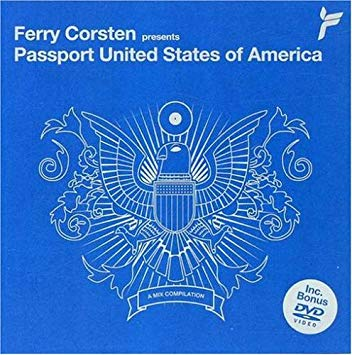 Ferry Corsten - Passport United States Of American CD/DVD - Used