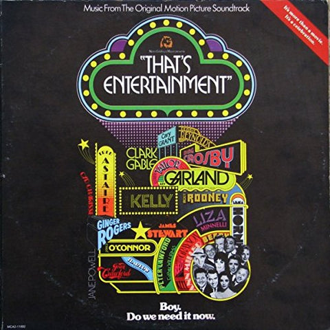 That's Entertainment (Various Artist) Original 2xLP -used