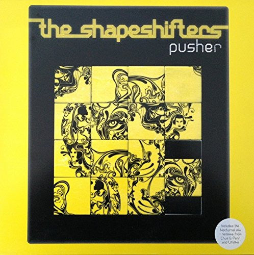 Shapeshifters - Pusher CD single