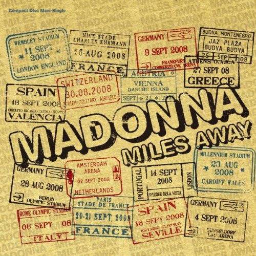MADONNA Miles Away (USA Maxi Single) CD