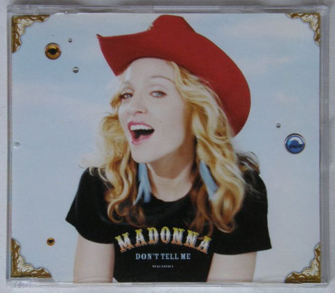 MADONNA Don't Tell Me (CD1)  Used CD single