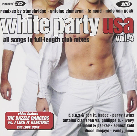 White Party USA, Vol. 4 - 2CD