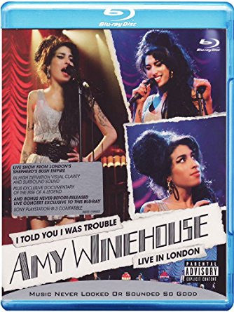 Amy Winehouse - I Told You I Was Trouble Blu-ray (LIVE in London)