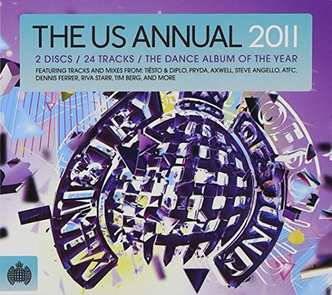 THe US Annual 2011 (Double CD) New