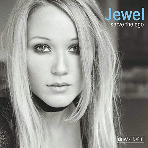 Jewel:  serve the ego (USA Maxi CD single) Used