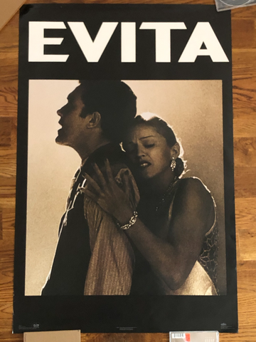 Madonna - 1996 - Evita Movie Poster - Print 23x35 - Used - Borderline Music