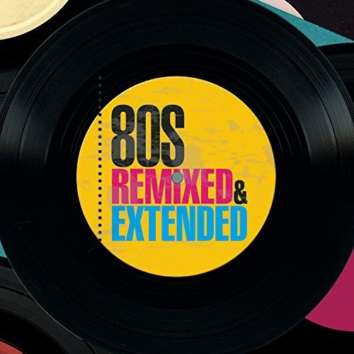 80s Remixed & Extended 3xCD Import - New
