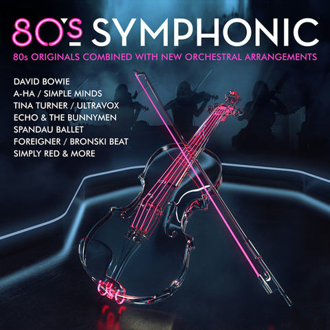 80's Symphonic Import CD (Various) Originals w/ new Orchestral arrangements.