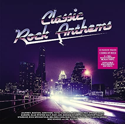 Classic ROCK (POP)  Anthems 2XLP - New Vinyl